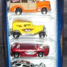 Hot Wheels * SKATEBOARDERS * 5 PACK GIFT SET NEW! 2000