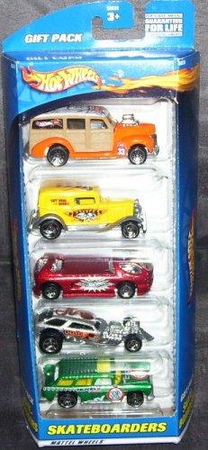 Hot Wheels * SKATEBOARDERS * 5 PACK GIFT SET NEW! 2000