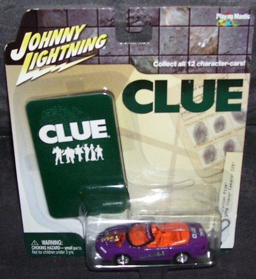 Johnny Lightning * CLUE * 1998 CHEVY CAMARO Z28 * PURPLE PROFESSOR PLUM NEW!