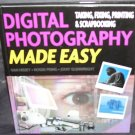 DIGITAL PHOTOGRAPHY MADE EASY Book NEW! Hardcover 2006