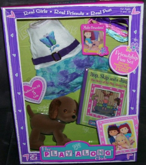 Play Along Club FRIENDSHIP FUN Playset ACCESSORY PACK NEW!