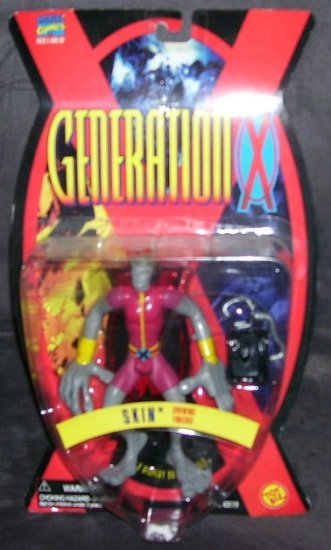 THE X-MEN * GENERATION X * SKIN * ACTION FIGURE NEW! 1995