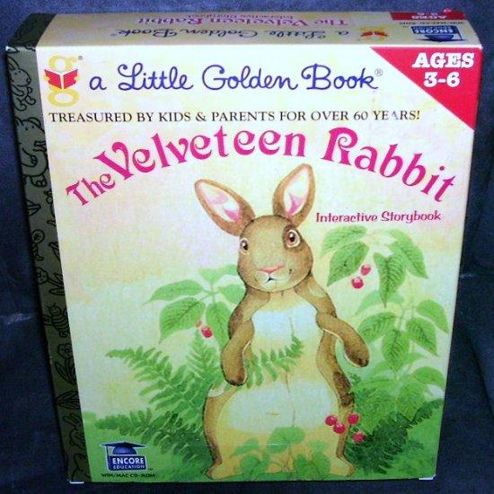 THE VELVETEEN RABBIT * INTERACTIVE STORYBOOK * NEW IN BOX! PC CD-ROM
