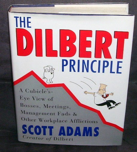 THE DILBERT PRINCIPLE Book * FIRST EDITION * HARDCOVER w/DUSTJACKET 1996