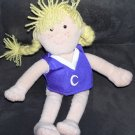 "COMMONWEALTH * BLONDE GIRL PLUSH DOLL * 11"" Tall"