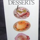 THE BOOK OF LIGHT DESSERTS BY Anne Sheasby NEW! 1994