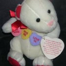 "HALLMARK * HUG ME * COLLECTOR PLUSH BEAR w/TAG 9"" SITTING"
