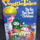 Veggie Tales THE TOY THAT SAVED CHRISTMAS * VHS * Video NEW!