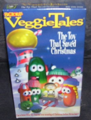 veggie tales the toy that saved christmas vhs video new - The Toy That Saved Christmas