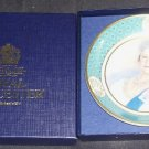ROYAL WORCESTER * QUEEN MOTHER * CELEBRATION OF HER LIFE 1900-2002 MINT IN BOX!