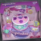 CUPCAKES TEA PARTY CAKE PLAYSET * NEW IN BOX! * 25 PCS