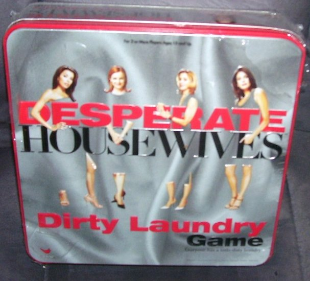 DESPERATE HOUSEWIVES DIRTY LAUNDRY Board Game NEW IN TIN 2005