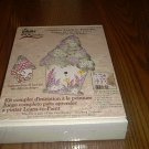 Folk Art ONE STROKE COMPLETE LEARN TO PAINT * BIRDHOUSE KIT * NEW!