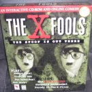 THE X FOOLS Interactive CD-ROM and Online Comedy Games NIB 1997 RARE