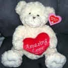Amazing Love John 15:13 CREAM COLORED BEAR PLUSH * NEW WITH TAG! *