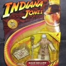 Indiana Jones Raiders of the Lost Ark RENE BELLOQ Figure NEW w/Hidden Relic