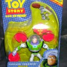 Disney Toy Story CHECKER THROWIN' BUZZ LIGHTYEAR Action Figure NEW