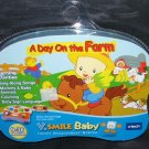 V Smile Baby A DAY ON THE FARM Cartridge NEW!