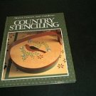 Better Homes & Gardens COUNTRY STENCILING Book NM