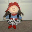 "Grand Ole Opry Kids LORRIE ANN Cloth DOLL 11"" Tall 1995"