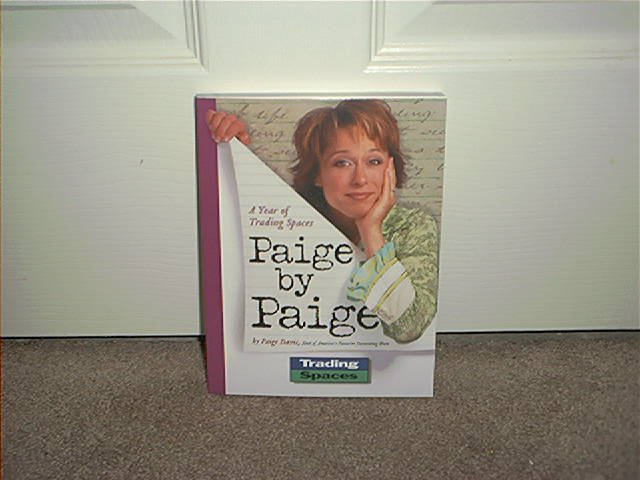 PAIGE BY PAIGE DAVIS BOOK ~TRADING SPACES~ NEW! COLOR