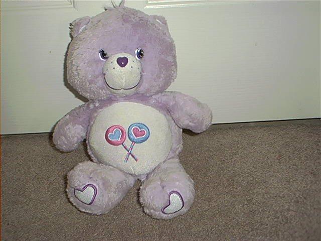"CARE BEARS * SHARE BEAR * PLUSH 2003 12"" TALL CUTE"