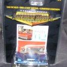 American Muscle Wide-Track Pontiac '62 Catalina Super Duty Diecast Car BLUE 1:64