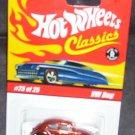 Hot Wheels Classics ORANGE VW BUG Diecast #25 of 25 Series 1
