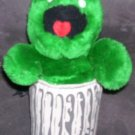Vintage Applause OSCAR THE GROUCH IN TRASH CAN Plush 11""