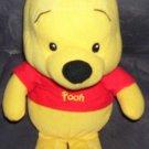 "Disney Winnie the Pooh Stuffed Baby Plush 12"""