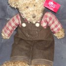 "Russ Avon FITZSIMMONS Plush Bear NWT 15"""