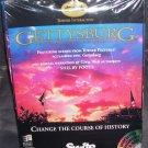 Turner Interactive GETTYSBURG Multimedia Battle Simulation PC Game NIB 1994