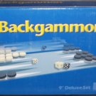 "BACKGAMMON 9"" Magnetic Deluxe Game Set NEW!"
