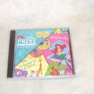 Disney The Little Mermaid PRINT STUDIO PC CD-ROM NEW!