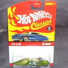 Hot Wheels Classics W-Oozie #27 of 30 LIME GREEN Diecast NEW! Series 2