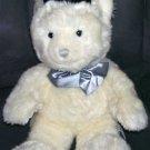 Russ Berrie A BEARY SPECIAL LOVE GROOM Teddy Bear w/TOP HAT BOWTIE Plush