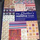 The Quilter's Resource Book Hardcover BRAND NEW!