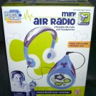 Room Gear MINI AIR RADIO Inflatable FM Radio and Headphones NEW! 2002