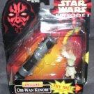 Star Wars Episode 1 DELUXE OBI-WAN KENOBI w/LIGHTSABER NEW! 1998