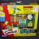 The Simpsons BLOCKO Figure Set NEW! 2002 Playmates