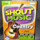 Shout About Music COUNTRY Edition DVD Game NEW! 2005