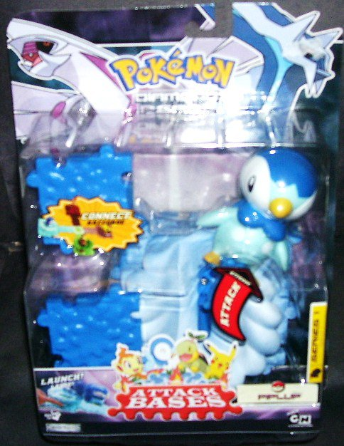 Pokemon PIPLUP Attack Bases Diamond & Pearl Series 1 NEW 2007