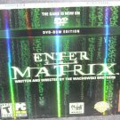 Enter The Matrix DVD-ROM Edition Game for PC NEW!