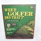 Which Golfer Did That? A Quiz Jigsaw Puzzle NEW! 1997 by Buffalo Games