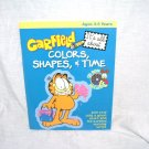 GARFIELD It's All about Colors, Shapes and Time Book & CD-ROM Ages 3-5 NEW!