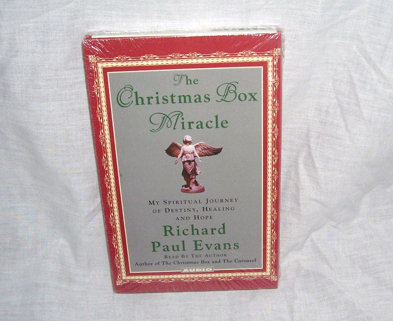 THE CHRISTMAS BOX MIRACLE Audio Book Cassette NEW & SEALED! BY Richard Paul Evans