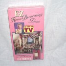 E Z HOME DECORATING IDEAS ~VHS VIDEO~ FOR YOUR E Z BOWMAKER MACHINE NEW!