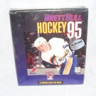 BRETT HULL HOCKEY 95 PC CD-ROM for DOS NEW IN BOX!
