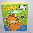 GARFIELD It's All About PHONICS Book & CD-ROM NEW! Ages 4-6