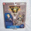 Saban's XYBER 9 New Dawn JACK Action Figure NEW! By Bandai From 1999